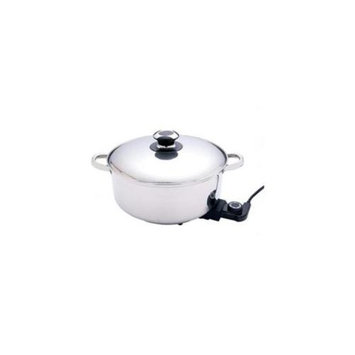 Precise Heat 12 inch S. S Dp Skillet-Slow Cooker