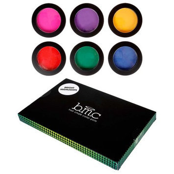Bundle Monster BMC 6pc Temporary Rub-On Highlight Streaks Mixed Color Pots Hair Dye Chalk-Set 1