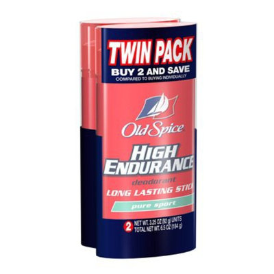 Old Spice High Endurance 2-pk. Pure Sport Deodorant 3.25-oz.