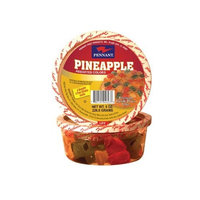 Pennant Pineapple Wedges, Assorted Colors, 8 Ounce Tubs (Pack of 4)