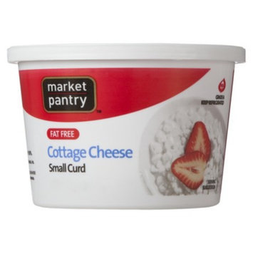 market pantry Market Pantry Fat Free Small Curd Cottage Cheese 16-oz.