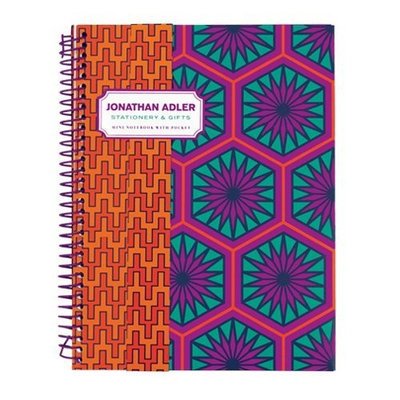 Jonathan Adler Positano Hexagons Mini Notebook