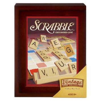 Hasbro Scrabble Vintage Book Game