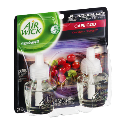 Air Wick Scented Oil Refills Cape Cod Cranberry Harvest - 2 CT
