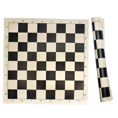 Sunnywood, Inc. Sterling Games Roll Up Chess Mat - Black