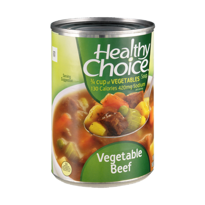 Healthy Choice Vegetable Beef Soup