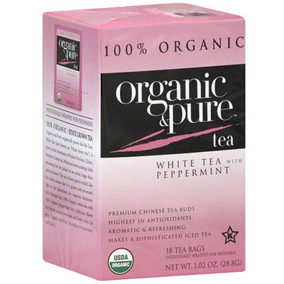 Organic & Pure White Tea Bags