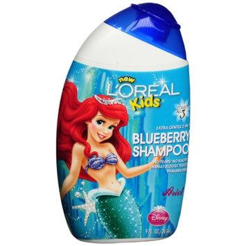 L'Oréal Kids Extra Gentle 2-in-1 Shampoo, Ariel / Blueberry, 9 fl oz