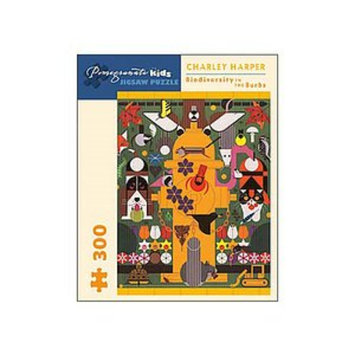Pomegranate Communications Biodiversity in the Burbs Puzzle: 300 pc, Ages 8 and up, 1 ea