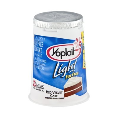 Yoplait Light Red Velvet Cake Flavored Fat Free Yogurt