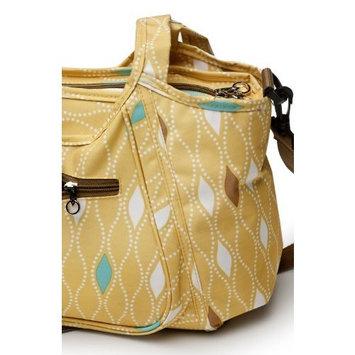 Kidsline Kids Line Carryall Diaper Bag, Maiz Harlequin Print