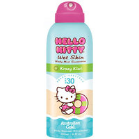 Australian Gold Hello Kitty Wet Skin Body Mist Sunscreen, SPF 30 Kiwi