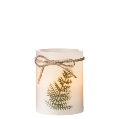 Smith & Hawken LED Candle with 4 Hour Timer Freesia Scent 3x4