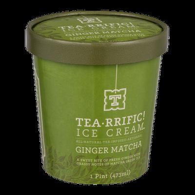 Tea-rrific! Ice Cream Ginger Matcha