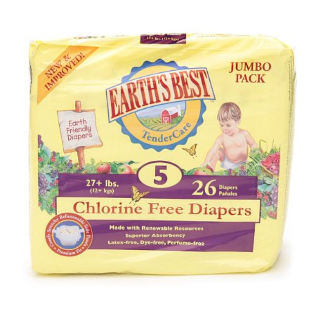 Earth's Best TenderCare Chlorine Free Diapers