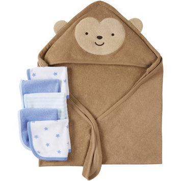 Child Of Mine by Carter's Newborn Baby Towel And Washcloth 6-Piece Set