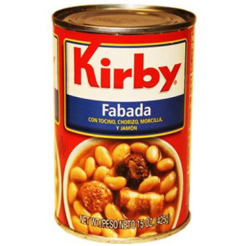 Goya Foods Kirby Fabada White Beans 15 Oz