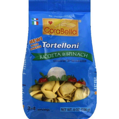 Corabella Tortelloni Ricotta And Spin 8 Oz - Case of 12