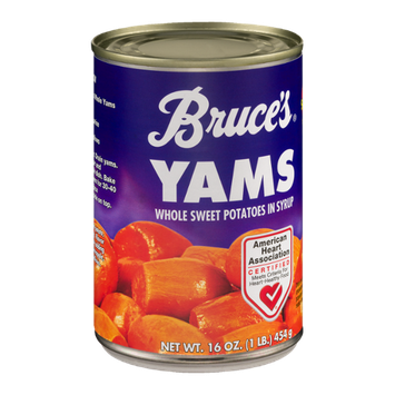 Bruce's Yams Whole Sweet Potatoes In Syrup