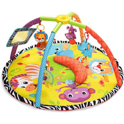 Infantino Twist and Fold Activity Gym Baby Animals