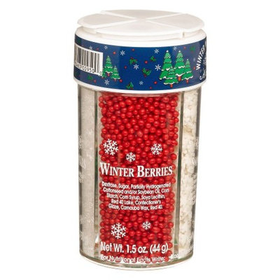 Dean Jacob's Dean Jacobs Winter Wonderland Accents, Large, 5.1-Ounce Jars (Pack of 6)