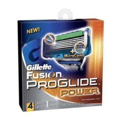 Gillette Fusion Power Proglide Repalcement Head 4 Pack
