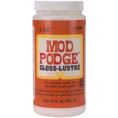 Plaid CS11201 Mod Podge All-in-1 Glue Set, 8-Ounce, Gloss