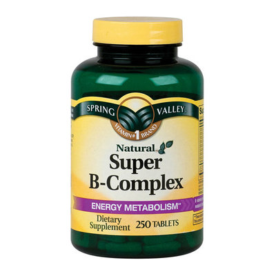 Spring Valley Natural Tablets Super B-Complex Tablets