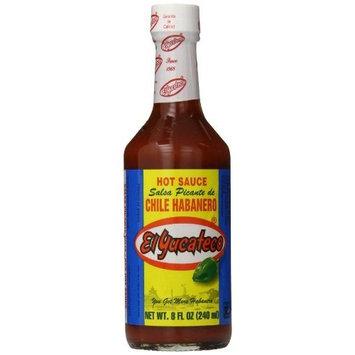 El Yucateco Salsa Picante Roja de Chile Habanero, 8 Ounce