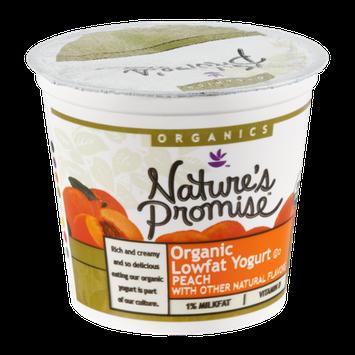 Nature's Promise Organics Yogurt Lowfat Organic Peach