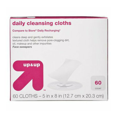 up & up Deep Pore Cleansing Cloths 60-pk.