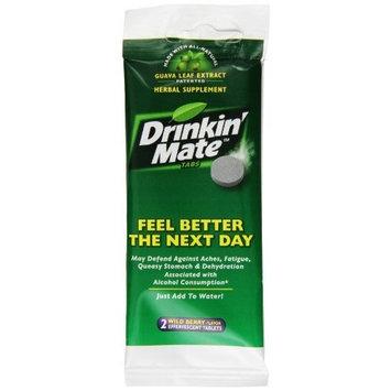 Drinkin' Mate Feel Better the Next Day, 2-Count Packages (Pack of 6)