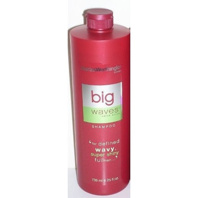 Charles Worthington Big Waves Shampoo for Defined Wavy Super Shiny Full Hair 25 Fl Oz