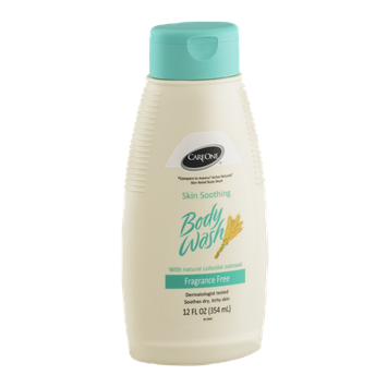 CareOne Skin Soothing Body Wash Fragrance Free
