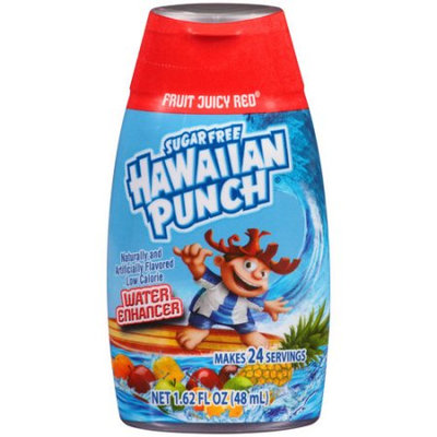 Hawaiian Punch Fruit Juicy Red Liquid Water Enhancer
