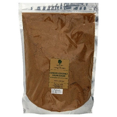 Big Tree Farms Coconut Palm Sugar with Ginger Root, 2.2-Pound Pouch