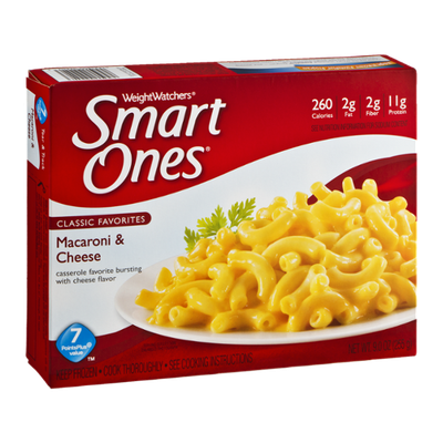 Weight Watchers Smart Ones Classic Favorites Macaroni & Cheese