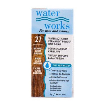 Water Works Activated Permanent Powder Haircolor - #27 Natural Light Brown