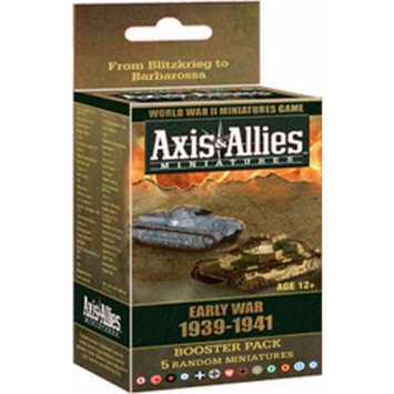 Wizards of the Coast Axis & Allies: Early War 1939 - 1941 Booster: An Axis & Allies Miniatures Game Expansion