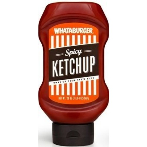 Whataburger Condiments (Pack of 3) (Spicy Ketchup 20oz)