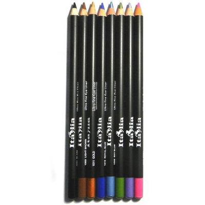 Sparkling Beauty 8 Italia eyeliner pencils Set 1