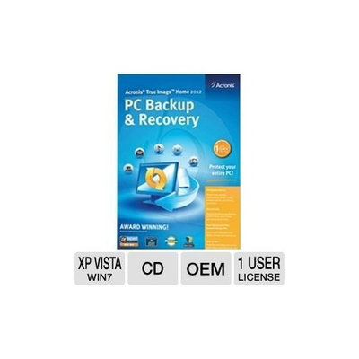 Acronis True Image Home 2012 Software