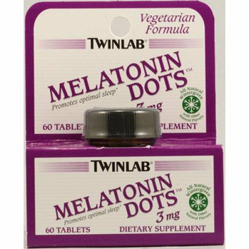 Twinlab Melatonin Dots Wintergreen 3 mg 60 Tablets