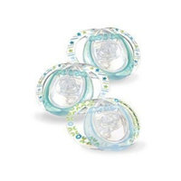 Tommee Tippee Closer To Nature Tommee Tippee 533047 Closer To Nature Silicone Pacifier 3-Pack 0-3m Small Newborn Boy