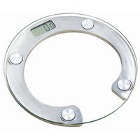 Homeimage Round Glass Digital Platform Bath scale - up to 330 lbs