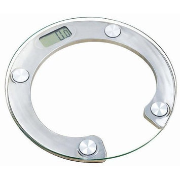 Homeimage Round Glass Digital Platform Bath scale - up to 330 lbs