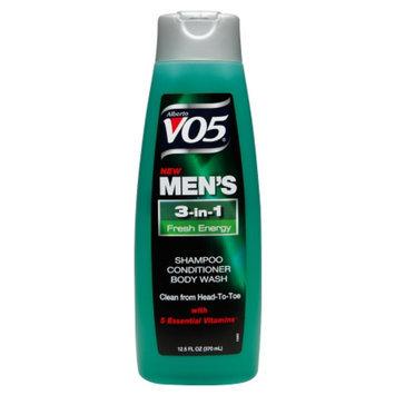 Alberto VO5® Fresh Energy Men's 3-IN-1 Shampoo, Conditioner & Body Wash