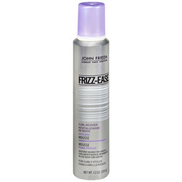 John Frieda Frizz-Ease Curl Reviver Styling Mousse for Curly Styles