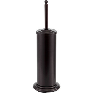 Mainstays Toilet Brush with Holder, Oiled Bronze