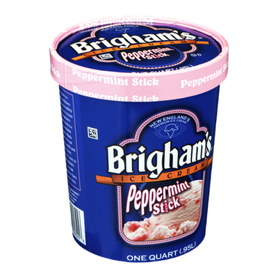 Brigham's Ice Cream Peppermint Stick